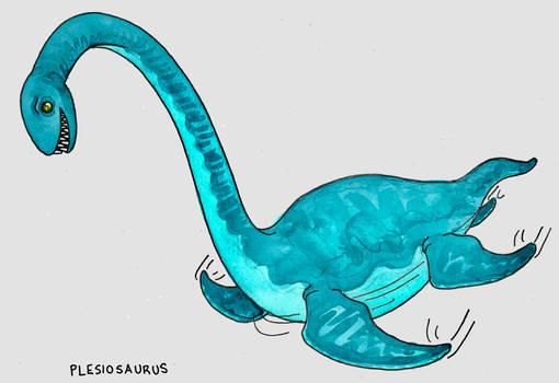 Pleasant Plesiosaurus