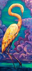 Sky Crane by albalyra