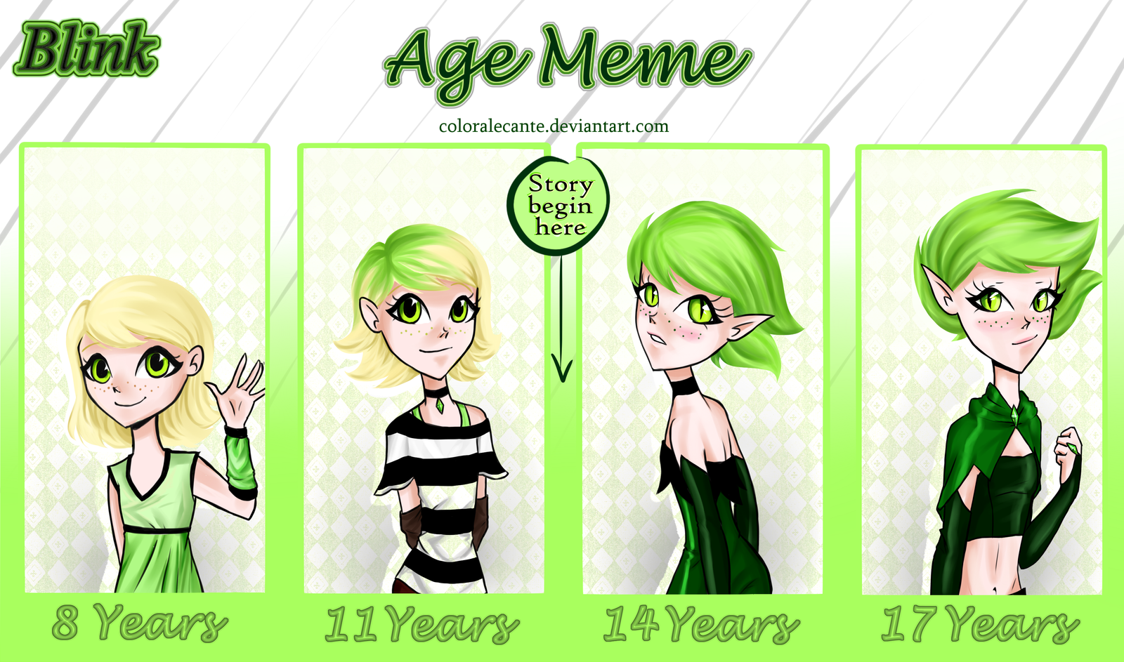 Blinks Age Meme by Coloralecante