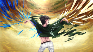 SnK - spread wings