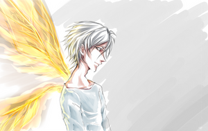 NGE: Angels Wings by Coloralecante
