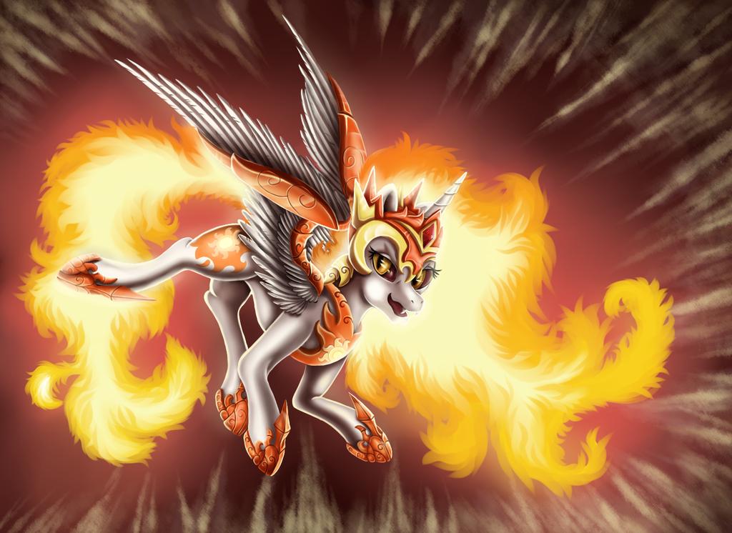 Daybreaker, Queen of the Sun - MLP by Ellen124 ...