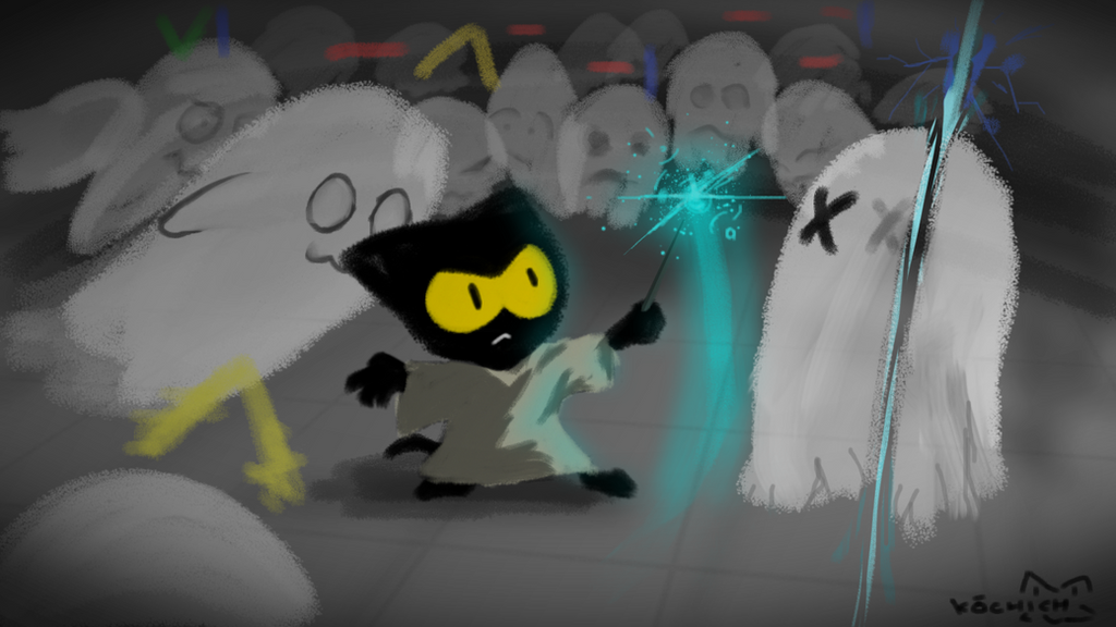 Google Cat Ghost Game