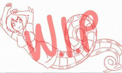 Naga wip by superjammieover9000