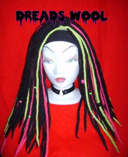how to make wool dreads