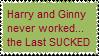 HarryGinny never workedStamp by Capricornicis