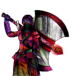 a color blind elf by Capricornicis