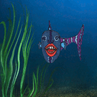 strange fish by strange-art-gallery