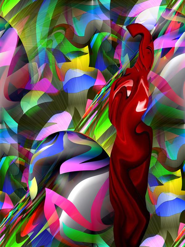 spirit lifting brain teaser by strange-art-gallery