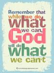 God will do