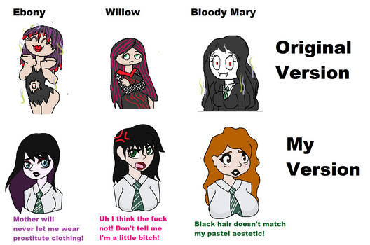 Original Vs my version