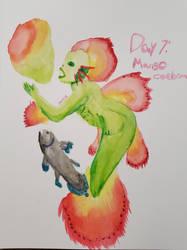 Mermaid 2k20 Day 7: Mango/coelacanth