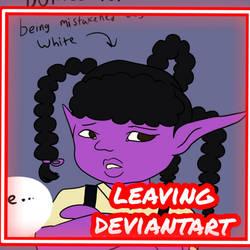 Leaving deviantart