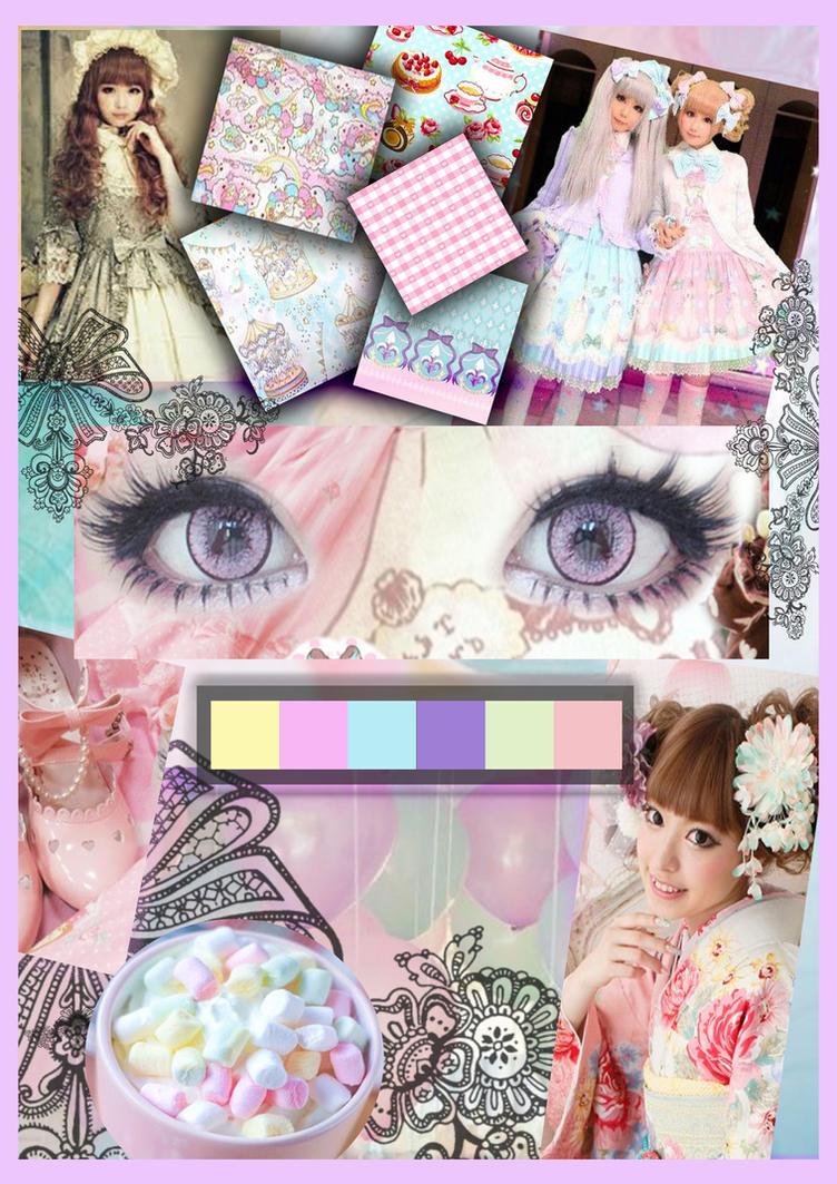 Lolita moodboard by Pilarina74