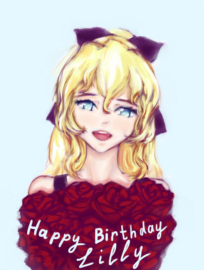 Happy Birthday, Lilly by honitsu