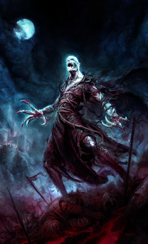 Koschei the Deathless by michalivan