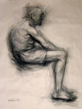 old man_figure drawing