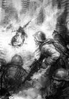 soldiers by michalivan