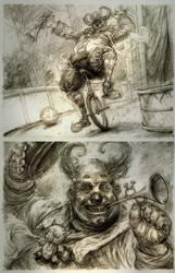 clown by michalivan