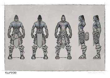 basic armour-modelingsheet by michalivan