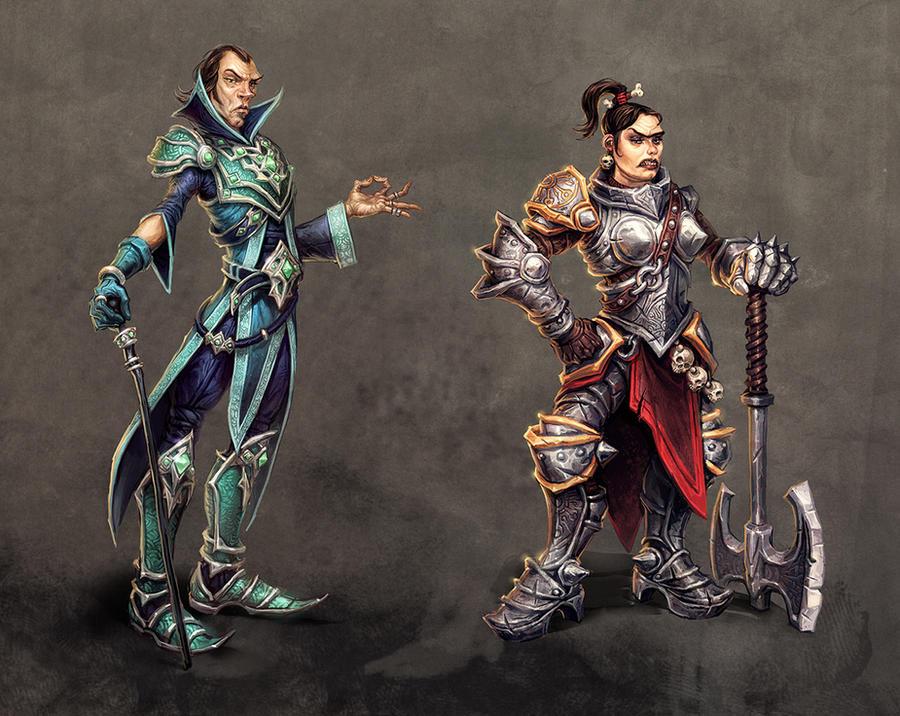 royal siblings by michalivan