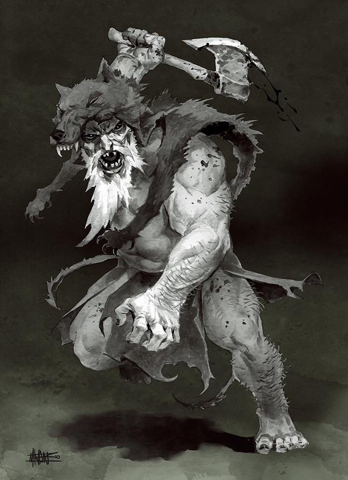 wolfskin by michalivan