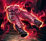 Flame Pillar Leggings-wow tcg