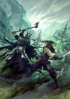 Captain Bathory by michalivan