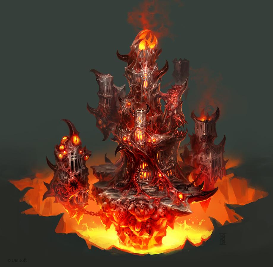 Inferno Town by michalivan