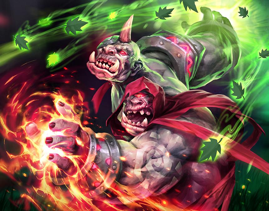 Rage of Elements by michalivan