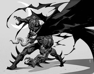 venomous bat by michalivan