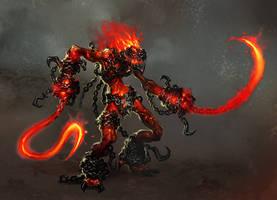 inferno maniac by michalivan