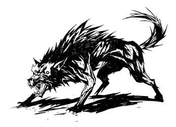 wolf by michalivan