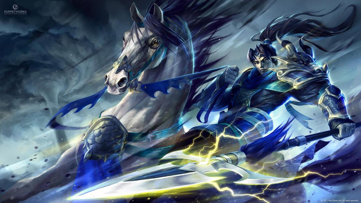 Warring Kingdoms Xin Zhao by michalivan
