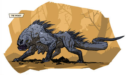 The Beast by michalivan
