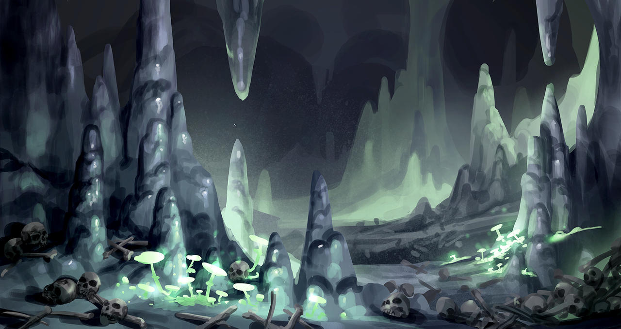 airbrushed artwork cavern concept - photo #19