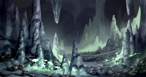 cavern by michalivan
