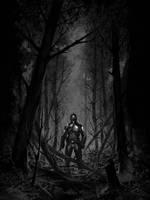 Darkness falls by michalivan