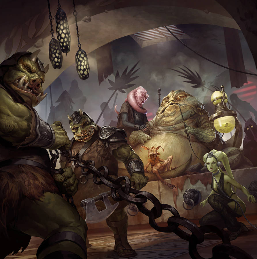 Imperial Assault: Jabba's Realm by michalivan