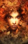 forest girl by michalivan