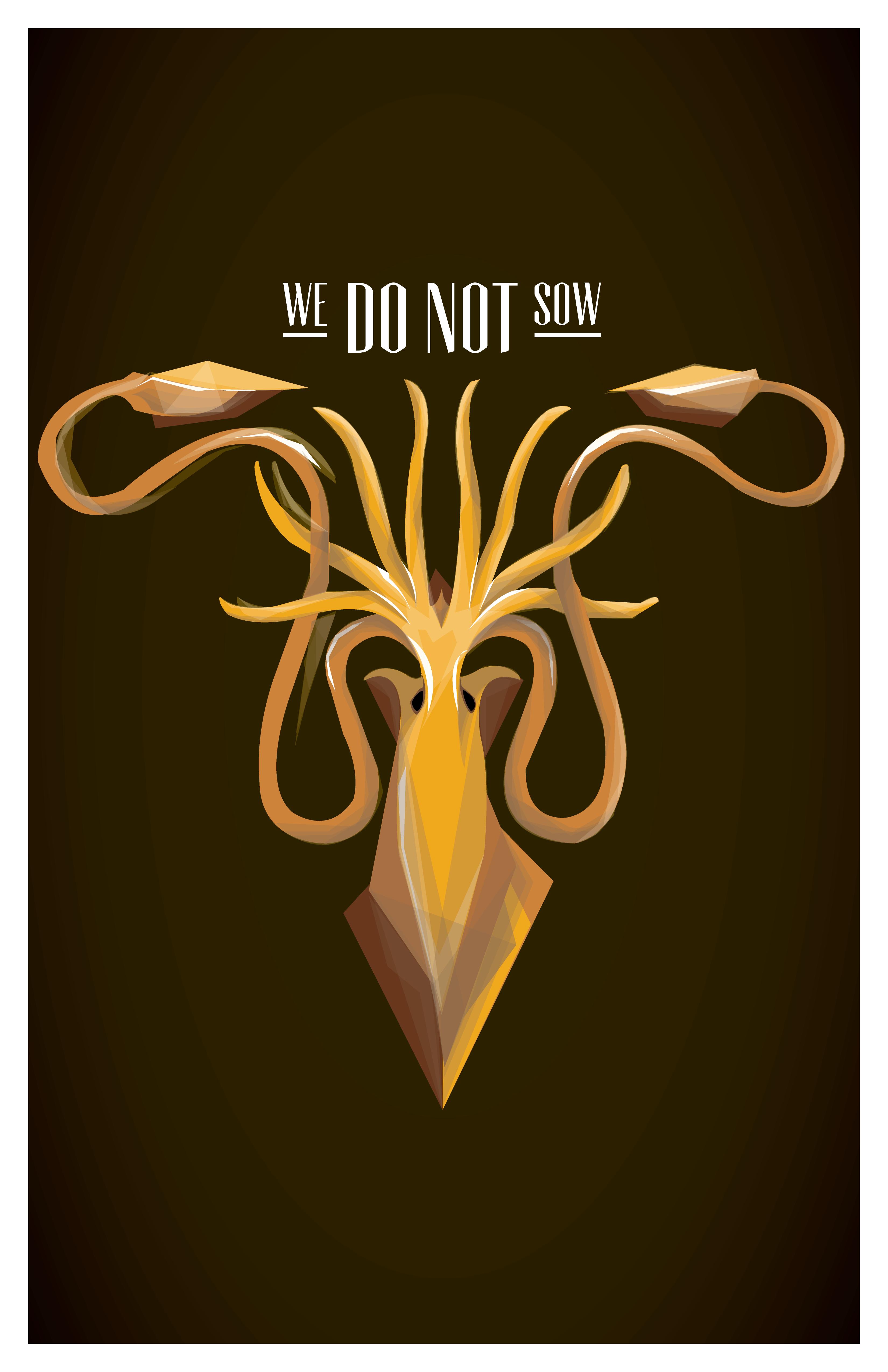 We do not Sow by traviskoh on DeviantArt