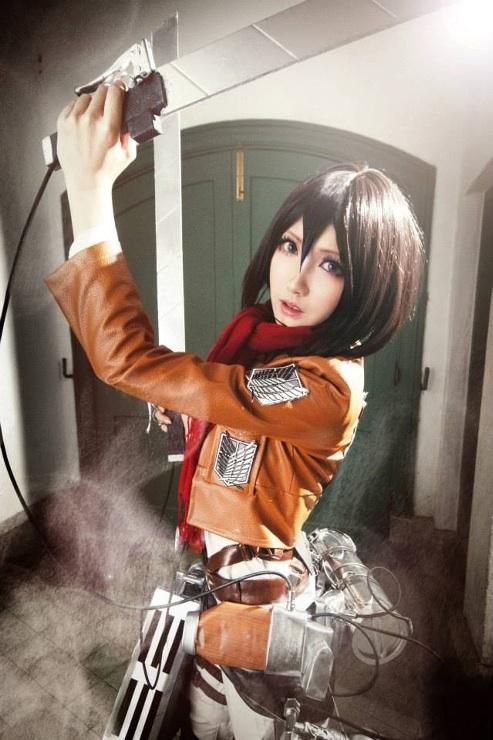 Mikasa Ackerman by MM-yam