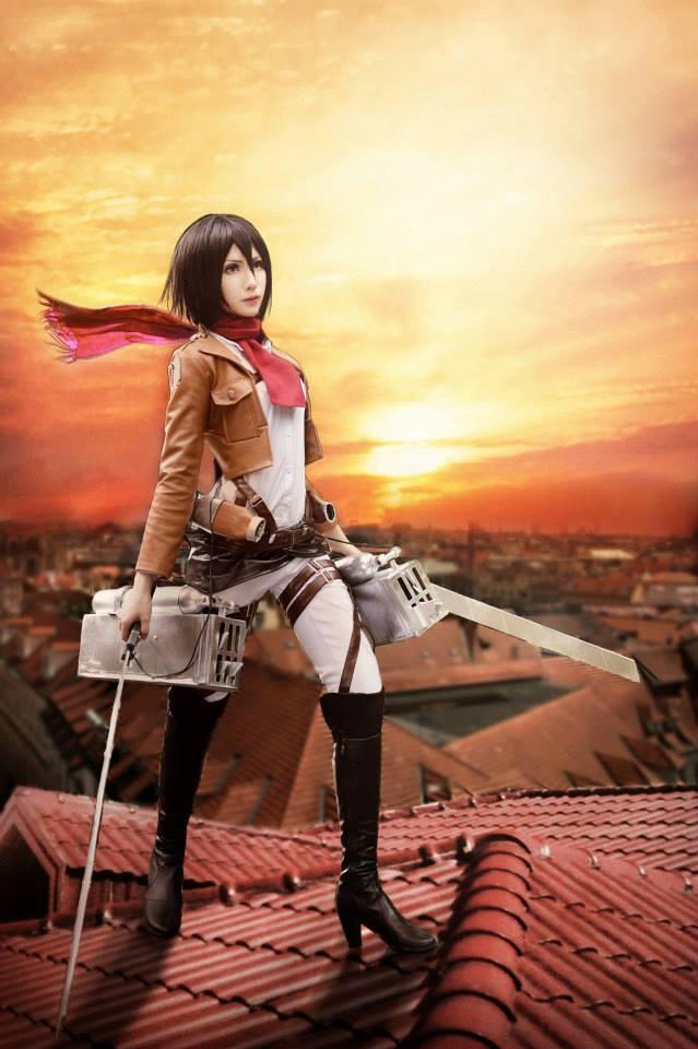 Mikasa by MM-yam