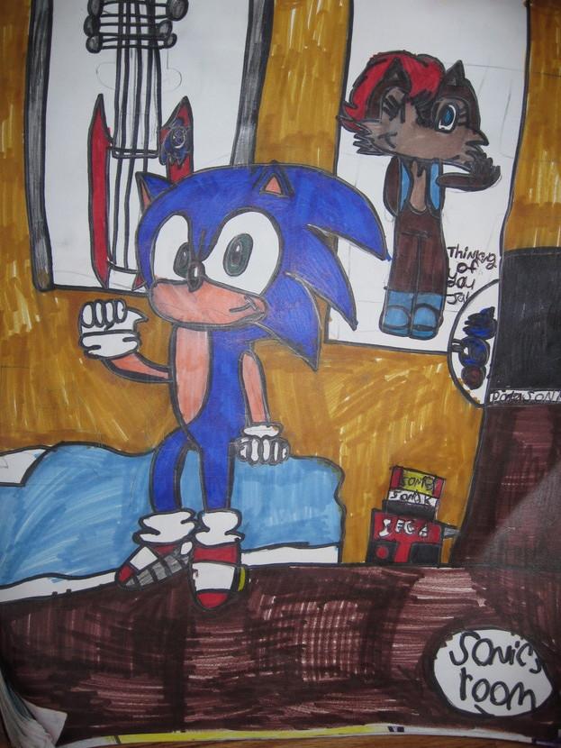 Sonic The Hedgehog Decor For Bedroom 28 Images 14 Best