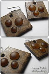 Bubbled Up earrings