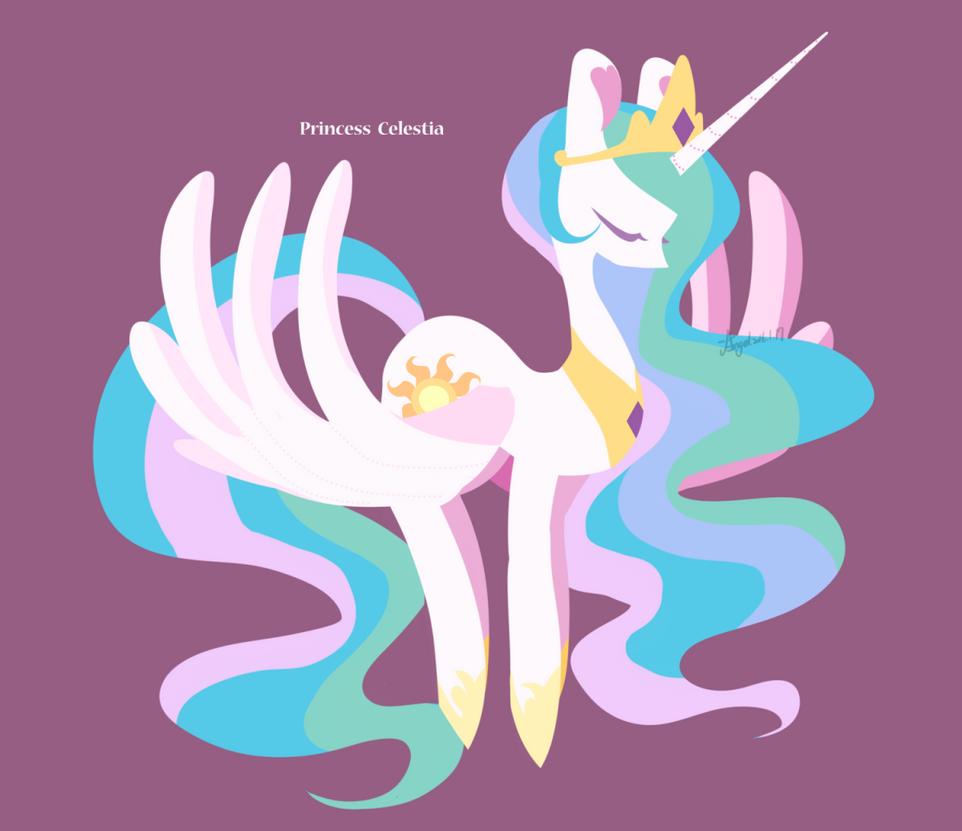 Princess Celestia by abc002310
