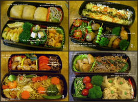 Obento collection 2 by pixmaina