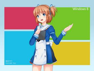 Madobe Yuu   Windows 8 OS-Tan by Ritsan115