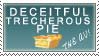 Deceitful Pie Stamp by ThaliaAnderson