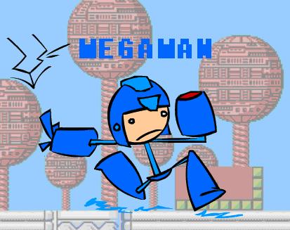 The amazing Megaman by JyroeMichigan
